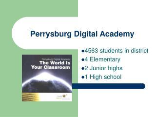 Perrysburg Digital Academy