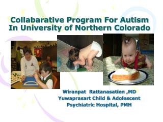 Collabarative Program For Autism In University of Northern Colorado