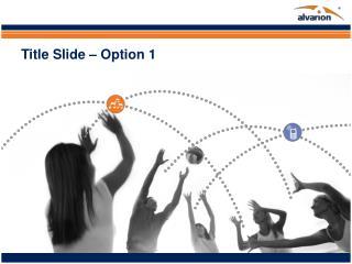 Title Slide � Option 1