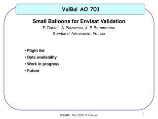 ValBal AO 701