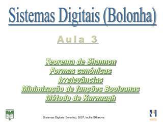 Sistemas Digitais (Bolonha)
