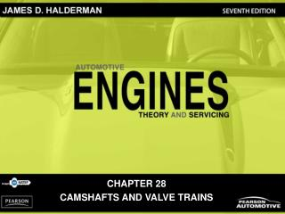 CHAPTER 28 CAMSHAFTS AND VALVE TRAINS