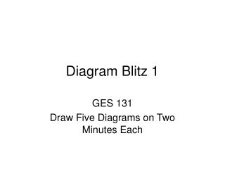 Diagram Blitz 1
