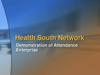 Health South Network