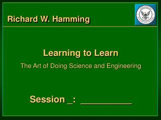 Richard W. Hamming