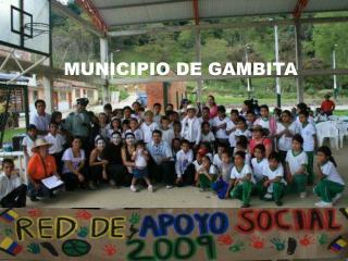 MUNICIPIO DE GAMBITA
