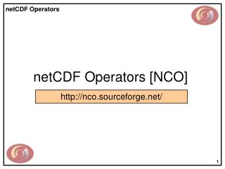 NetCDF Operators [NCO]