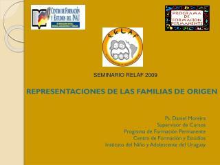 REPRESENTACIONES DE LAS FAMILIAS DE ORIGEN