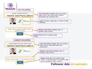 Followe r Ads Un esempio