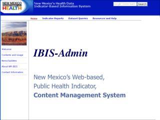 IBIS-Admin
