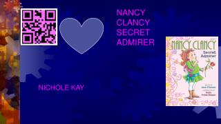 NANCY CLANCY  SECRET ADMIRER