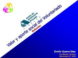 Valor y aporte social del Voluntariado