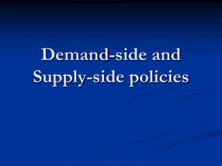 demand side policies The lights are going out best practice in demand-side management policy  best practice in demand-side management policies.