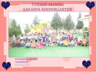 TURKEY-MANISA  SAKARYA KINDERGARTEN