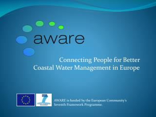 Connecting People for Better  Coastal Water Management in Europe