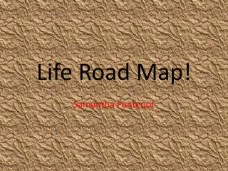 Life Road Map!