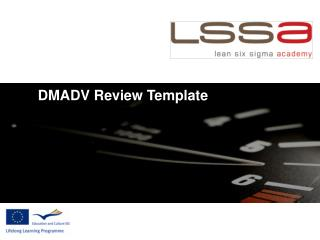 DMADV Review Template