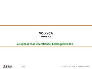 VOL-VCA versie 4.6