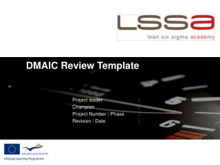 DMAIC Review Template