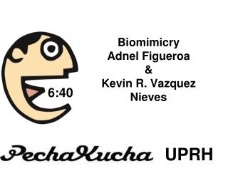 Biomimicry Adnel Figueroa & Kevin R. Vazquez Nieves
