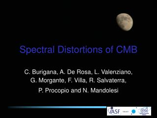 Spectral Distortions of CMB
