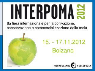 15. - 17.11.2012 Bolzano