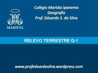 RELEVO TERRESTRE G-1