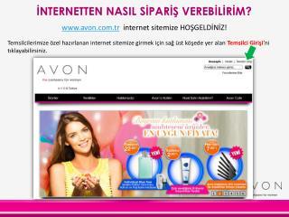 avon.tr   internet sitemize HOŞGELDİNİZ!