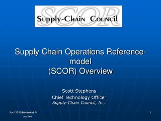 Supply Chain Operations Reference- model  (SCOR) Overview