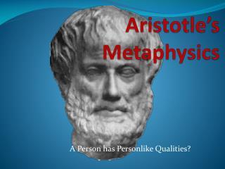 Aristotle�s Metaphysics