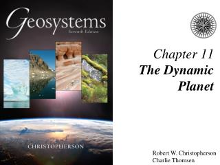 Chapter 11 The Dynamic Planet
