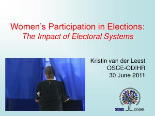 Women's Participation in Elections: The Impact of Electoral Systems