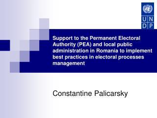 Constantine Palicarsky