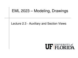 EML  2023 � Modeling, Drawings