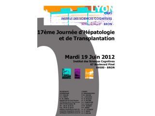 CNRS INSTITUT DES SCIENCES COGNITIVES BRON