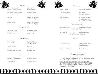 Full Orchestra A Most Wonderful Christmas Robert Sheldon