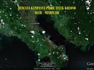Rencana Kampanye Pride Teluk Kolono Oleh : Musriyadi