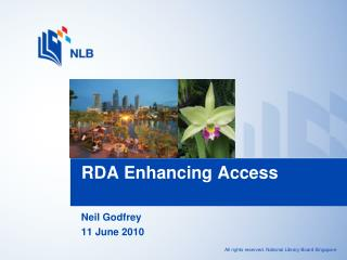 RDA Enhancing Access