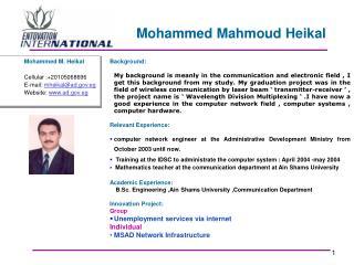 Mohammed Mahmoud Heikal