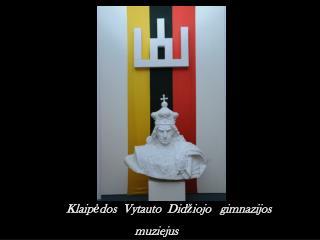 1934   m. rugsėjo  10   d.  įvyko  Vytauto  Didžiojo  gimnazijos  rūmų atidarymas.