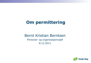 Om permittering