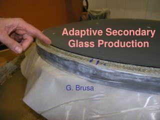 Adaptive Secondary Glass Production