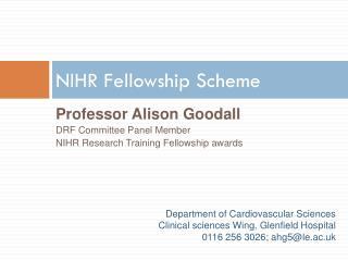 NIHR Fellowship Scheme