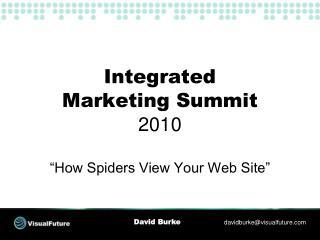Integrated Marketing Summit 2010