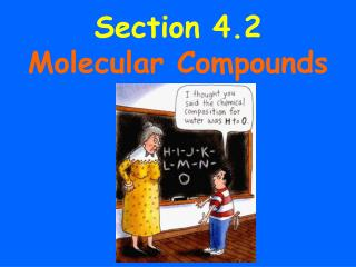 Section 4.2  Molecular Compounds