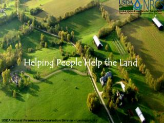 Helping People Help the Land