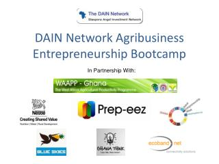 DAIN Network Agribusiness Entrepreneurship Bootcamp