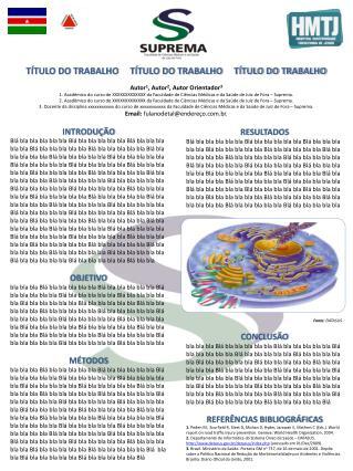 TÍTULO DO TRABALHO     TÍTULO DO TRABALHO     TÍTULO DO TRABALHO