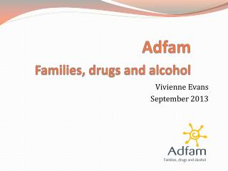 Adfam Families, drugs and alcohol