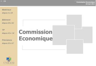 Commission Economique